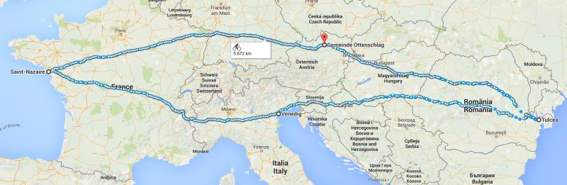 Klaus' Route